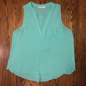 Brand New teal Lush sleeveless blouse